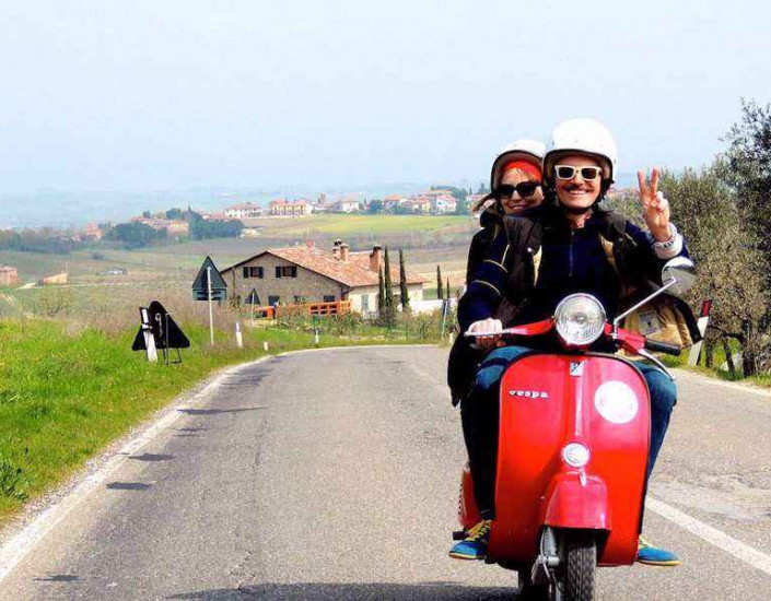 Tour in Vespa a Rimini